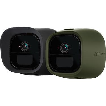 Arlo Go VMA4260 Lot de 2 coques en silicone (noire et verte) remplaçables pour caméra Arlo Go