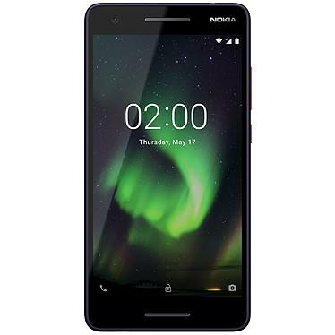 "Nokia 2.1 Bleu/Cuivre Smartphone 4G-LTE Dual SIM - Snapdragon 425 Quad-core 1.4 GHz - RAM 1 Go - Ecran tactile 5.5"" 720 x 1280 - 8 Go - Bluetooth 4.2 - 4000 mAh - Android 8.0"
