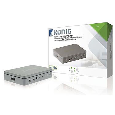 König Switch HDMI 4 ports