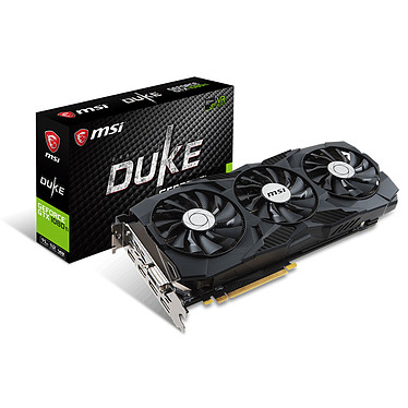 MSI GeForce GTX 1080 Ti DUKE 11G OC
