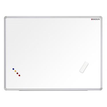 Vanerum Tableau blanc émaillé 60 x 45 cm Tableau blanc en acier émaillé effaçable 60 x 45 cm