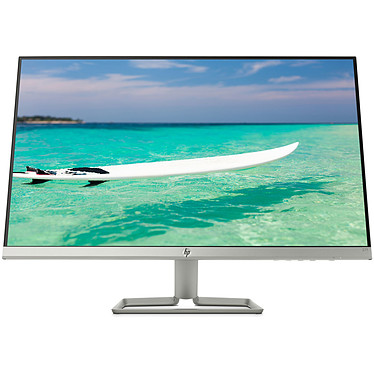 "HP 27"" LED - 27f 1920 x 1080 pixels - 5 ms (gris à gris) - Format large 16/9 - Dalle IPS - FreeSync - HDMI - Noir/Argent"