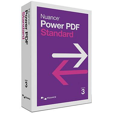 Nuance Power PDF Standard version 3 Logiciel de traitement PDF - 1 utilisateur (français, WINDOWS)