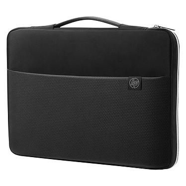 """HP Carry Sleeve 15"""" Noir/Argent  Sacoche de transport pour ordinateur portable (jusqu'à 15"""")"""