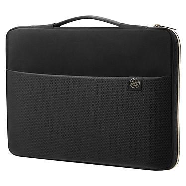 """HP Carry Sleeve 15"""" Noir/Or Sacoche de transport pour ordinateur portable (jusqu'à 15"""")"""