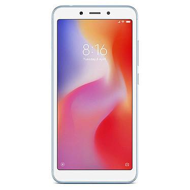 "Xiaomi Redmi 6A Bleu (16 Go) Smartphone 4G-LTE Dual SIM - Helio A22 Quad-Core 2.0 GHz - RAM 2 Go - Ecran tactile 5.45"" 720 x 1440 - 16 Go - NFC/Bluetooth 4.2 - 3000 mAh - Android 8.1"