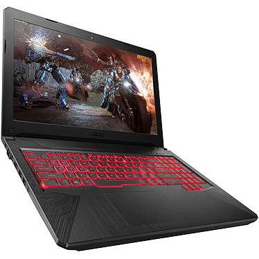 "ASUS TUF554GM-EN273T Intel Core i7-8750H 8 Go SSD 256 Go + SSHD 1 To 15.6"" LED Full HD 120 Hz NVIDIA GeForce GTX 1060 6 Go Wi-Fi AC/Bluetooth Webcam Windows 10 Famille 64 bits (garantie constructeur 2 ans)"