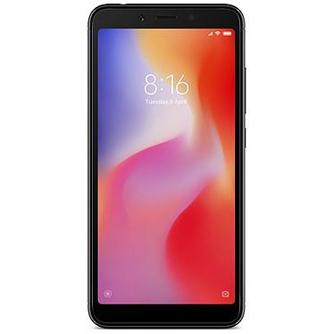 "Xiaomi Redmi 6 Noir (32 Go) Smartphone 4G-LTE Dual SIM - Helio P22 8-Core 2.0 GHz - RAM 3 Go - Ecran tactile 5.45"" 720 x 1440 - 32 Go - NFC/Bluetooth 4.2 - 3000 mAh - Android 8.1"