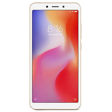 "Xiaomi Redmi 6 Or (32 Go) Smartphone 4G-LTE Dual SIM - Helio P22 8-Core 2.0 GHz - RAM 3 Go - Ecran tactile 5.45"" 720 x 1440 - 32 Go - NFC/Bluetooth 4.2 - 3000 mAh - Android 8.1"