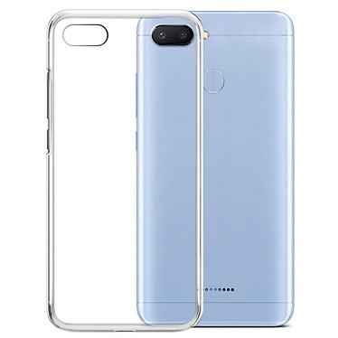 Akashi Xiaomi Redmi 6 Transparent funda Funda protectora transparente para Xiaomi Redmi 6