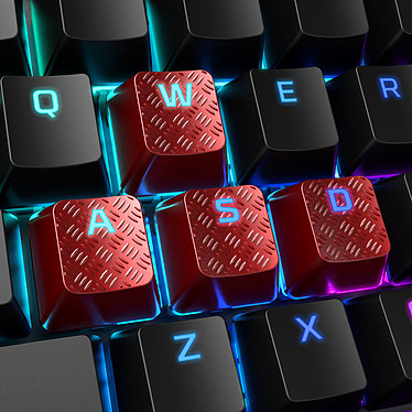 Acheter HyperX FPS/MOBA Gaming Keycaps Rouge