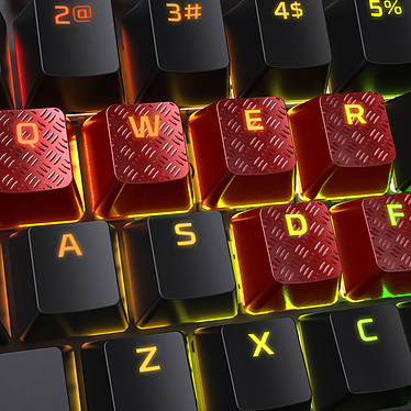 Avis HyperX FPS/MOBA Gaming Keycaps Rouge