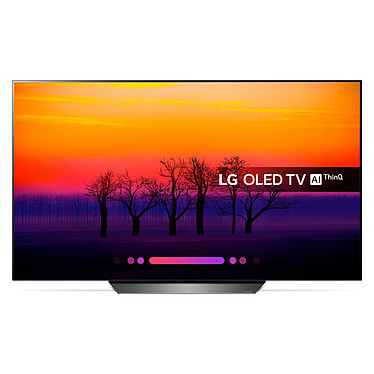 "LG OLED55B8PLA 55"" OLED ULTRAHD 4K TV OLED 4K 55"" (140 cm) 16/9 - 3840 x 2160 pixels - Ultra HD 2160p - HDR - Wi-Fi - Bluetooth - Dolby Atmos"
