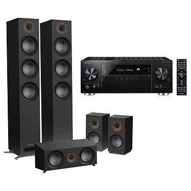 Pioneer VSX-933 Noir + Jamo S 809 HCS Noir Ampli-tuner Home Cinéma 7.2 Multiroom, Dolby Atmos, DTS:X, HDMI 4K Ultra HD, HDCP 2.2, HDR HLG, Hi-Res Audio, Wi-Fi Dual Band, Bluetooth, Chromecast, DTS Play-Fi, AirPlay + Pack d'enceintes 5.0 compatible Dolby Atmos
