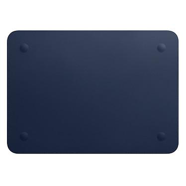 "Acheter Apple Housse Cuir MacBook Pro 15"" Bleu nuit"