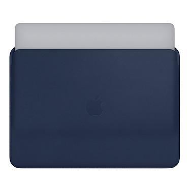 "Avis Apple Housse Cuir MacBook Pro 15"" Bleu nuit"