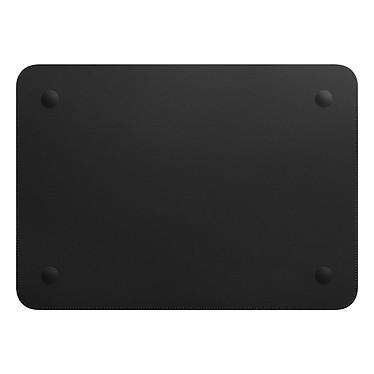 "Acheter Apple Housse Cuir MacBook Pro 15"" Noir"