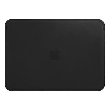 "Apple Housse Cuir MacBook 12"" Noir Housse en cuir pour MacBook 12"""
