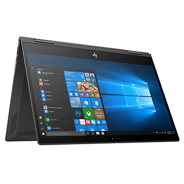 "HP ENVY x360 13-ag0009nf AMD Ryzen 7 2700U 8 Go SSD 256 Go 13.3"" LED Full HD Tactile Wi-Fi AC/Bluetooth Webcam Windows 10 Famille 64 bits"