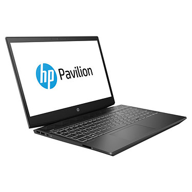 "HP Pavilion 15-cx0001nf Intel Core i7-8750H 8 Go SSD 256 Go + HDD 1 To 15.6"" LED Full HD NVIDIA GeForce GTX1060 3 Go Wi-Fi AC/Bluetooth Webcam Windows 10 Famille 64 bits"