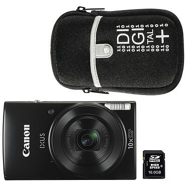 Canon IXUS 190 Noir + Nikon ALM0016C10 + Vanguard Beneto 6 Noir