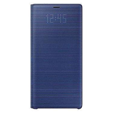 Samsung LED View Cover Azul Galaxy Note9 Maletín con indicador LED de fecha/hora para Samsung Galaxy Note9