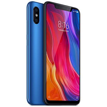 """Xiaomi Mi 8 Bleu (128 Go) Smartphone 4G-LTE Advanced Dual SIM - Snapdragon 845 Octo-Core 2.8 GHz - RAM 6 Go - Ecran tactile 6.21"""" 1080 x 2248 - 128 Go - NFC/Bluetooth 5.0 - 3400 mAh - Android 8.1"""