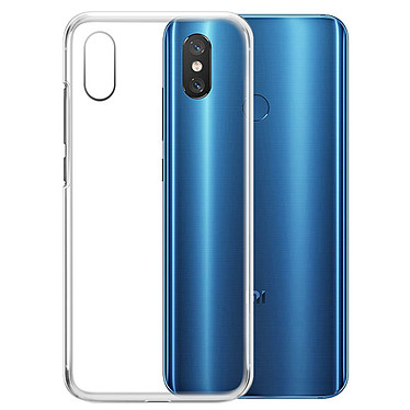 Akashi Coque TPU Transparente Xiaomi Mi 8 Coque de protection transparente pour Xiaomi Mi 8