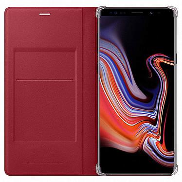 Samsung Flip Wallet Rojo Galaxy Note 9