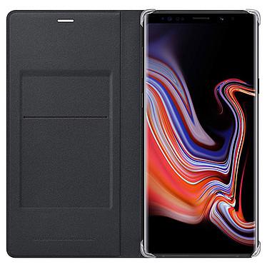 Samsung Flip Wallet Noir Galaxy Note 9 Etui portefeuille pour Samsung Galaxy Note 9