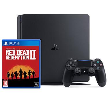 Sony PlayStation 4 Slim (1 To) + Red Dead Redemption 2 Console de jeux-vidéo nouvelle génération avec disque dur 1 To et manette sans fil + jeu Red Dead Redemption 2