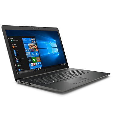 "HP 17-by0130nf Intel Core i5-8250U 8 Go SSD 128 Go + HDD 1 To 17.3"" LED HD+ AMD Radeon 520 Graveur DVD Wi-Fi N/Bluetooth Webcam Windows 10 Famille 64 bits"