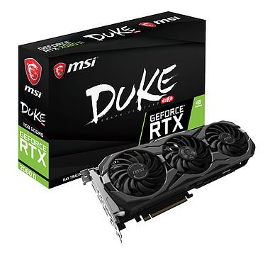 MSI GeForce RTX 2080 Ti DUKE 11G OC 11 Go GDDR6 - HDMI/Tri DisplayPort/USB Type-C - PCI Express (NVIDIA GeForce RTX 2080 Ti)