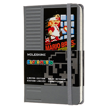Moleskine Super Mario Cartouche NES Pocket