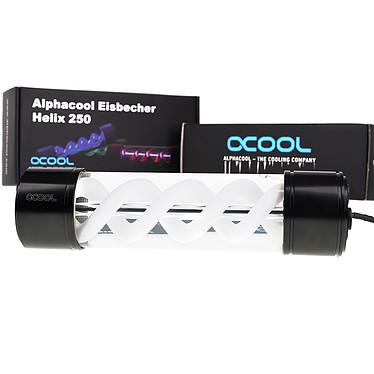Alphacool Eisbecher Helix 250mm reservoir noir/blanc pas cher