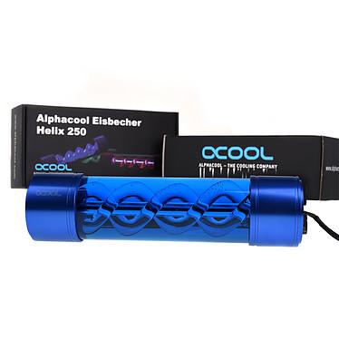 Alphacool Eisbecher Helix 250mm reservoir bleu pas cher