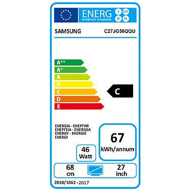 """Samsung 27"""" LED - LC27JG50QQUXEN pas cher"""