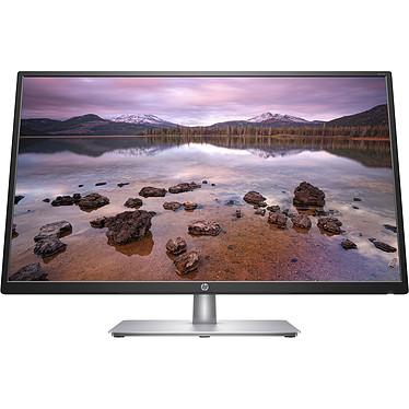 "HP 32"" LED - 32S 1920 x 1080 pixels - 5 ms (gris à gris) - Format large 16/9 - Dalle IPS - HDMI - Noir/Argent"