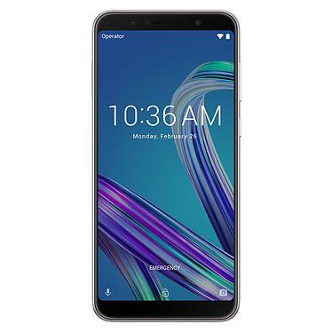 "ASUS ZenFone Max Pro M1 Argent (4 Go / 64 Go) Smartphone 4G-LTE Dual SIM - Snapdragon 636 Octo-Core 1.8 GHz - RAM 4 Go - Ecran tactile 5.99"" 1080 x 2160 - 64 Go - Bluetooth 5.0 - 5000 mAh - Android 8.1"