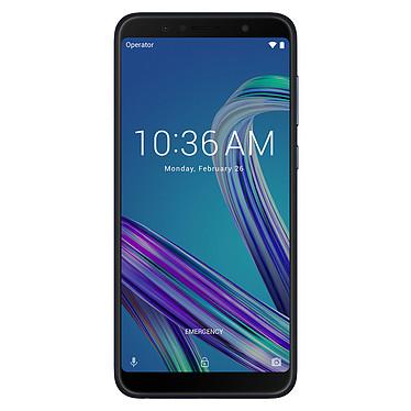 "ASUS ZenFone Max Pro M1 Noir (4 Go / 64 Go) Smartphone 4G-LTE Dual SIM - Snapdragon 636 Octo-Core 1.8 GHz - RAM 4 Go - Ecran tactile 5.99"" 1080 x 2160 - 64 Go - Bluetooth 5.0 - 5000 mAh - Android 8.1"