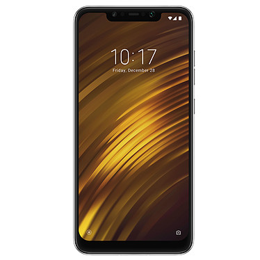 "Xiaomi Pocophone F1 Noir Graphite (6 Go / 128 Go) · Occasion Smartphone 4G-LTE Advanced Dual SIM - Snapdragon 845 Octo-Core 2.8 GHz - RAM 6 Go - Ecran tactile 6.18"" 1080 x 2246 - 128 Go - NFC/Bluetooth 5.0 - 4000 mAh - Android 8.1 - Article utilisé, garantie 6 mois"