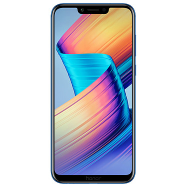 "Honor Play Bleu Smartphone 4G-LTE Advanced Dual SIM - Kirin 970 8-Core 2.4 GHz - RAM 4 Go - Ecran tactile 6.3"" 1080 x 2340 - 64 Go - Bluetooth 4.2 - 3750 mAh - Android 8.1"
