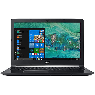 "Acer Aspire 7 Gaming Edition A715-72G-76F5 Intel Core i7-8750H 8 Go SSD 128 Go + HDD 1 To 15.6"" LED Full HD NVIDIA GeForce GTX 1050 4 Go Wi-Fi AC/Bluetooth Webcam Windows 10 Famille 64 bits"