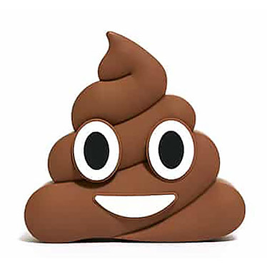 MojiPower Brown Poo PowerBank