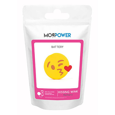 MojiPower Kissing Wink PowerBank amarillo a bajo precio