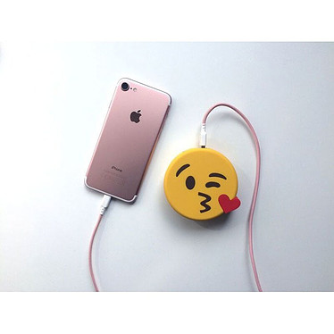 Comprar MojiPower Kissing Wink PowerBank amarillo
