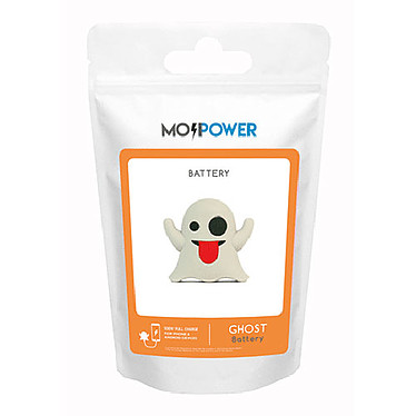 Avis MojiPower Ghost PowerBank Gris