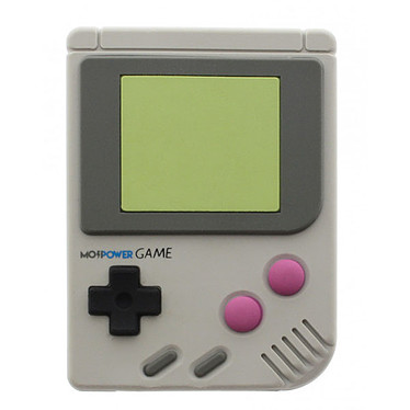 MojiPower Game Boy PowerBank Gris