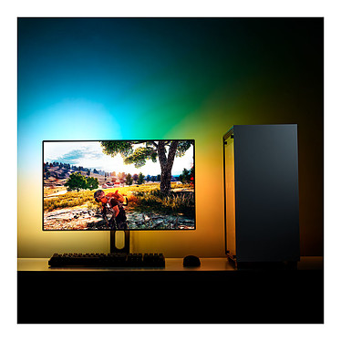 "NZXT HUE 2 Ambient RGB Lighting Kit (21""-26"") pas cher"