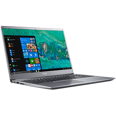 "Acer Swift 3 SF315-52-51M9 Gris Intel Core i5-8250U 8 Go SSD 256 Go 15.6"" LED Full HD Wi-Fi AC/Bluetooth Webcam Windows 10 Famille 64 bits"
